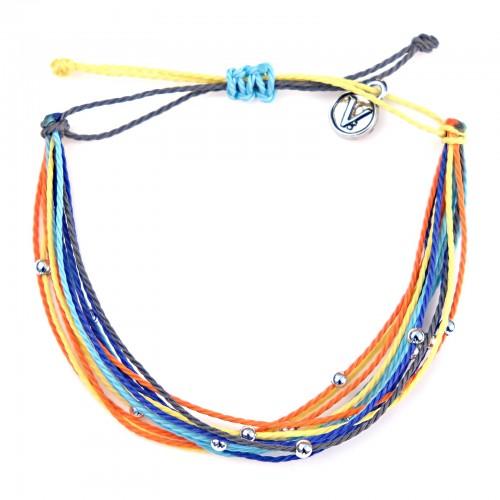 Multi With Beads Dreamcatcher | Bratara Hand-Made