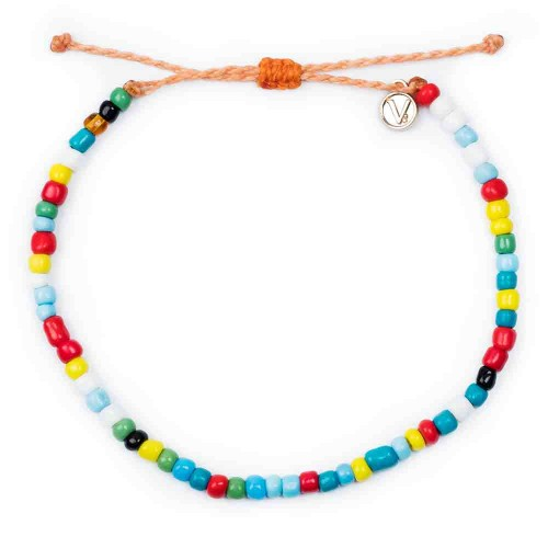 Multicolor Beads Anklet