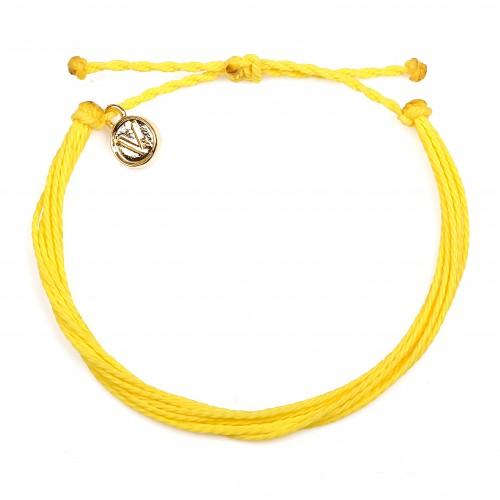 Simply Yellow | Bratara Velar Handmade
