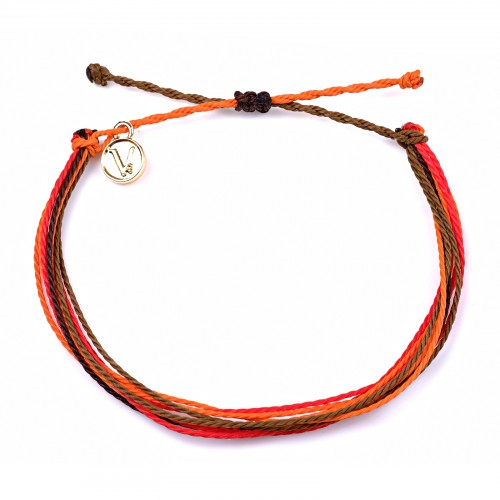 Autumn Red Sunk | Bratara Hand Made, bratari handmade, bratari velar