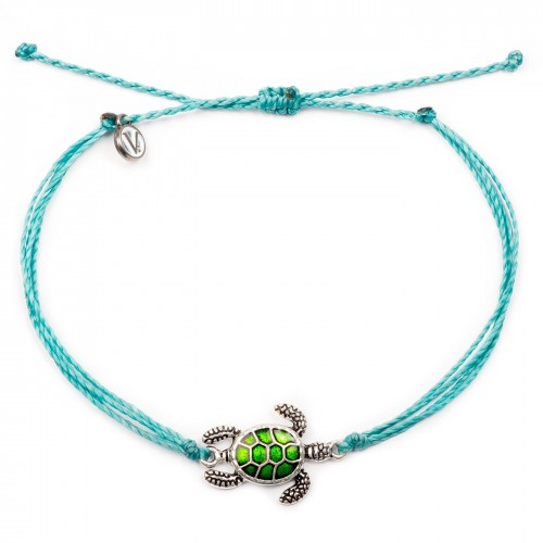 Turtle Turquoise Anklet